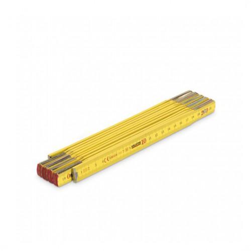 Metr skládací dřevěný KRT701001, 2m