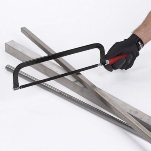 Pila na železo, dřevěná rukojeť KRT804006, 300mm