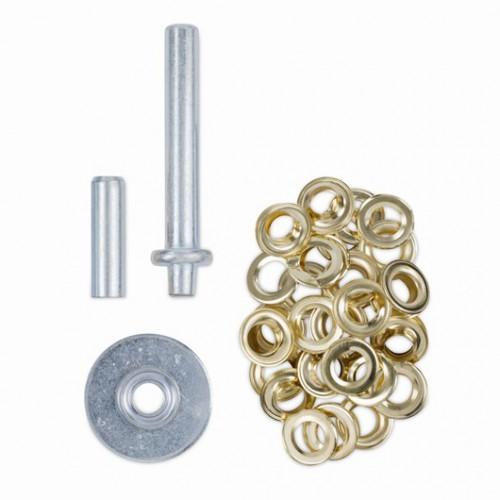 Nýtovací nástroj + 30 kusů kroužků, KRT616109, 12,5mm