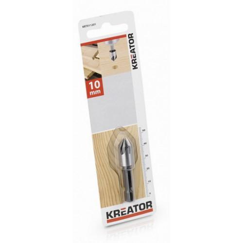 Kuželový záhlubník do dřeva KRT011201, 10mm