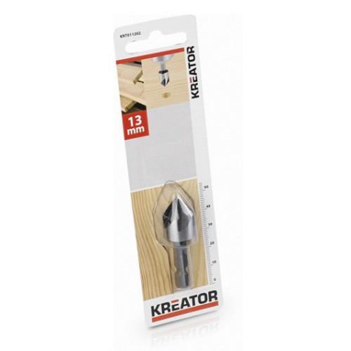 Kuželový záhlubník do dřeva KRT011202, 13mm