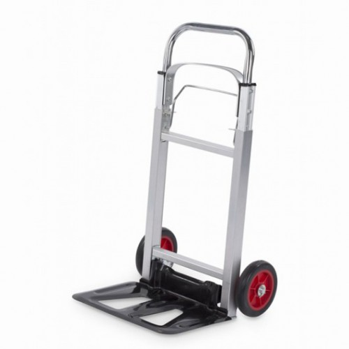 Vozík přepravní hliníkový skládací KRT670201, 90kg