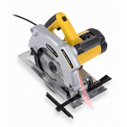 Pila okružní s laserem POWX0550, pr. 210mm, 1800W