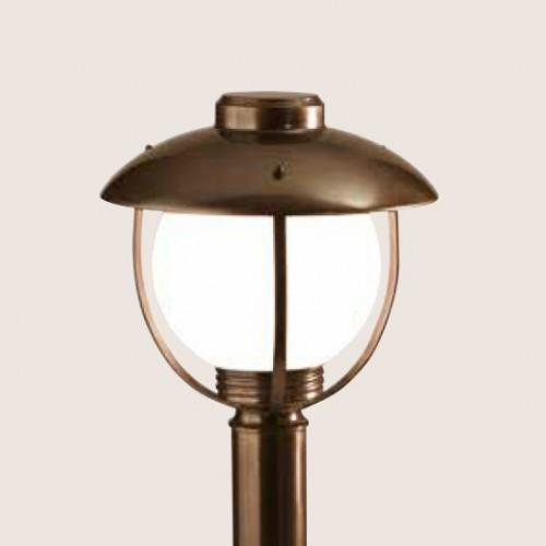 Sloupkové svítidlo exteriérové 192/1-PC-BR ze série Brezza