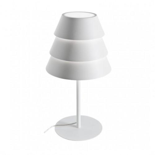 Stolní lampa moderní 01-929 ze série Calypso, matná bílá