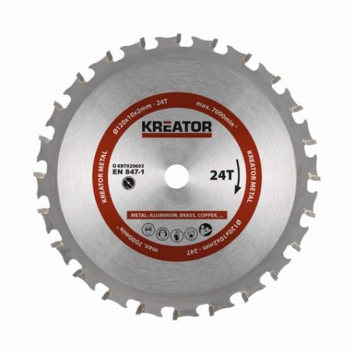 Pilový kotouč KRT020603 na lehké kovy, 120mm, 24 zubů