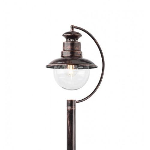 Sloupkové svítidlo exteriérové 9047 rustikální ze série Scott