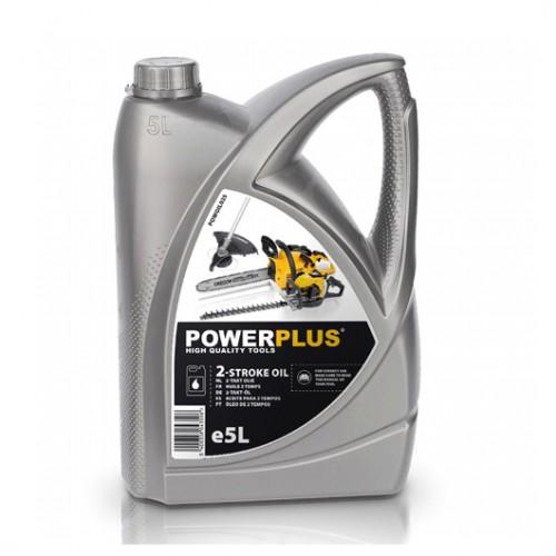 Olej do 2-taktních motorů POWOIL025, 5l