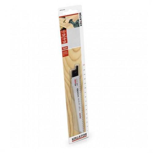 Pilové plátky na tvrdé dřevo, Kreator KRT031002, 2 kusy