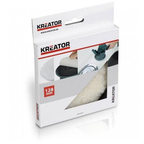Leštící vlněný kotouč Kreator KRT239003, 128mm