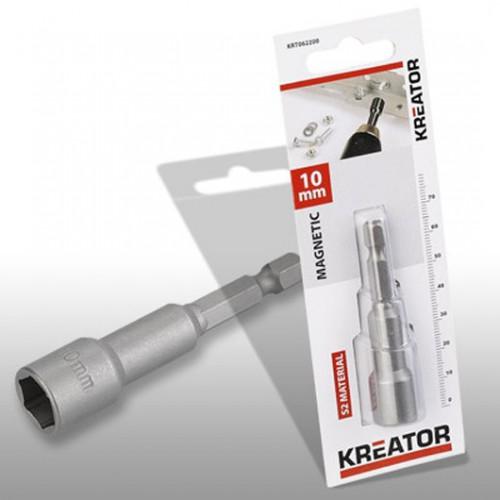 Klíč nástrčný magnetický KRT062200, 10mm