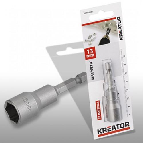 Klíč nástrčný magnetický KRT062300, 13mm