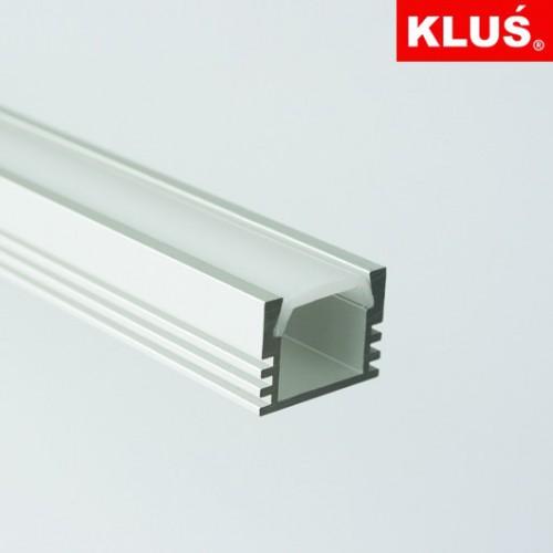 Hliníkový profil pro LED pásky PDS4-ALU, B1718