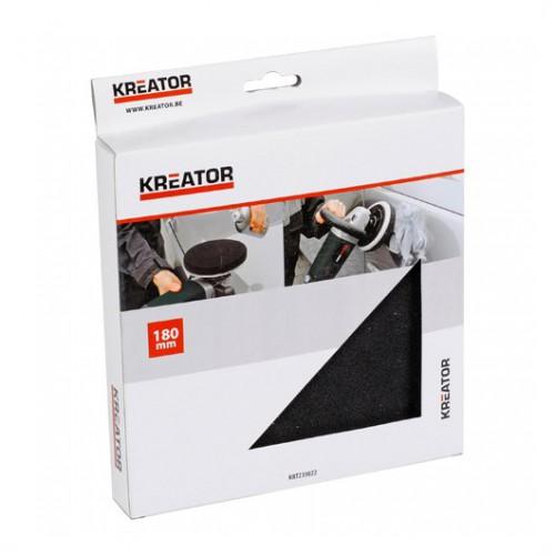Leštící molitanový kotouč Kreator KRT239022, 180mm
